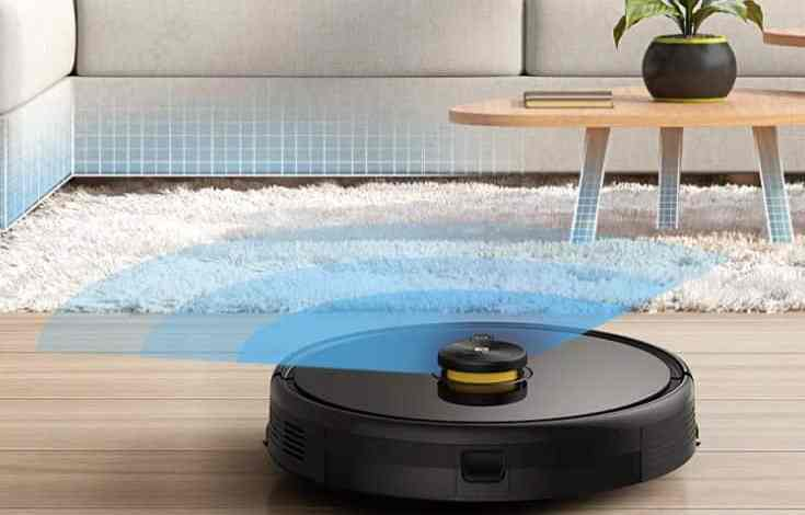 TechLife Robot Vacuum design