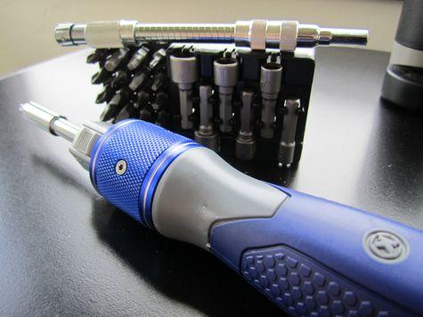 Kobalt Double Drive Screwdriver closeup