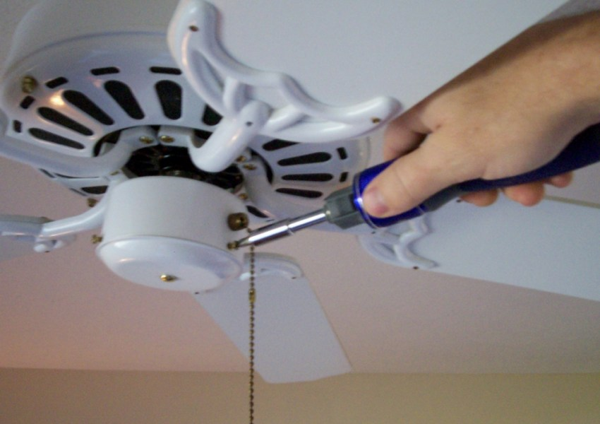 Ceiling Fan Light Kit Installation How To Using the New 32 Piece Double Drive from Kobalt to Remove the Wiring  Housing Cap