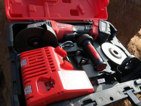 Milwaukee Fuel grinder kit