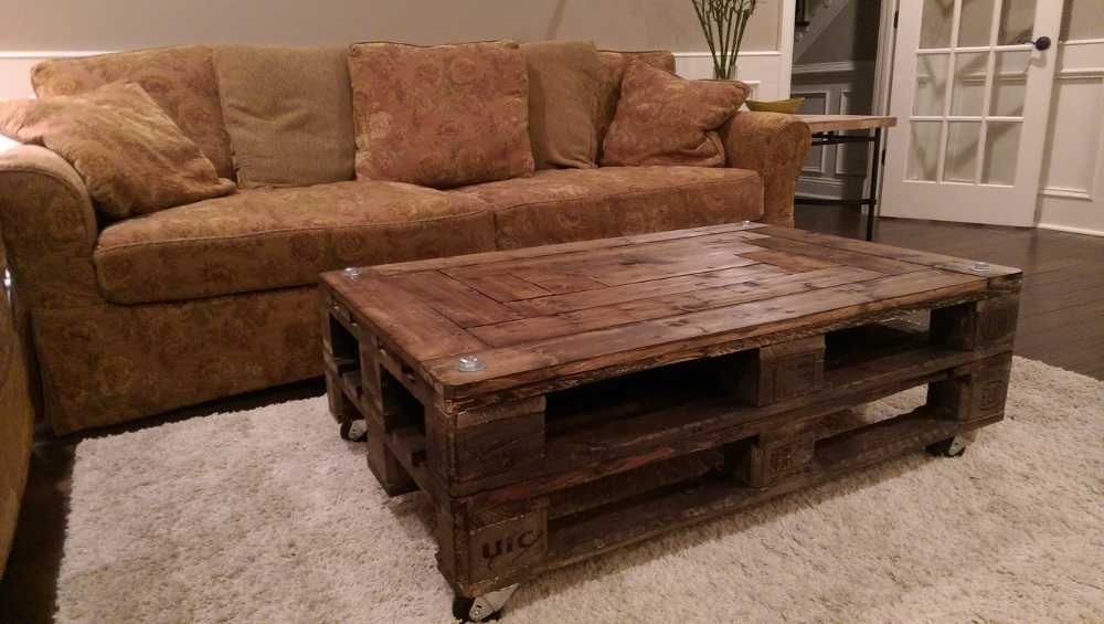 Spectacular Upcycled DIY Pallet Coffee Table Bring On The Cocktails