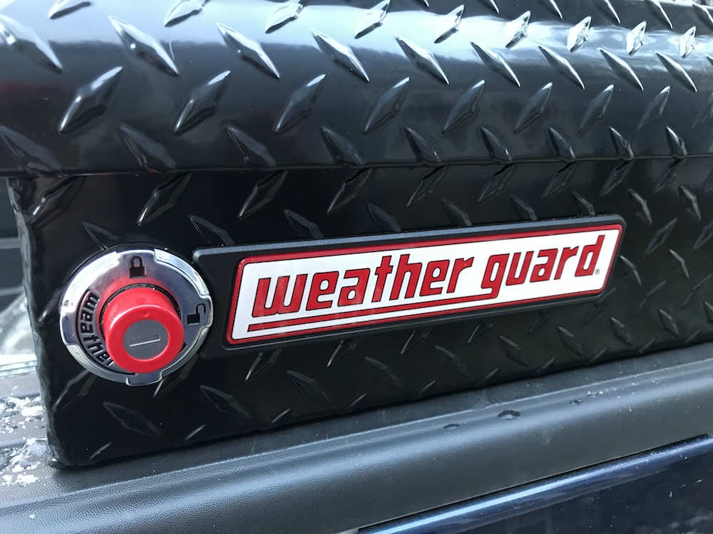 Weather Guard truck toolbox
