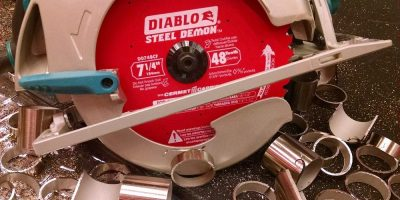 """REDefining"" Metal Cutting with Diablo Blades"