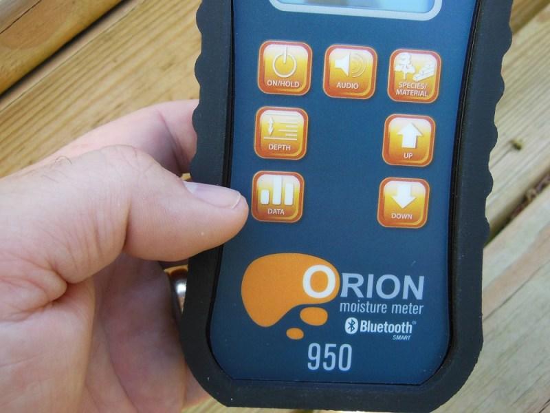 Orion 950 data mode