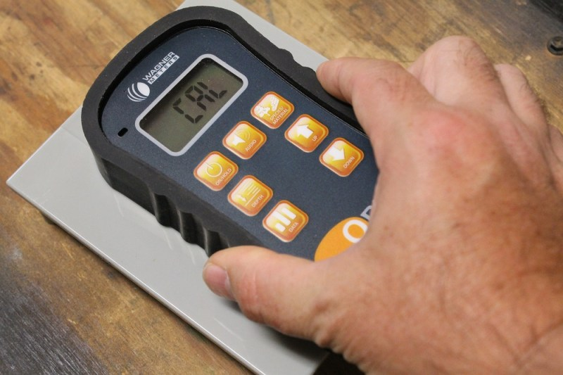 Calibrating the Orion 950 moisture meter