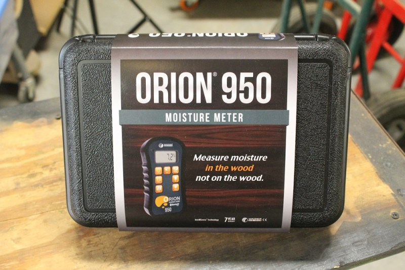 Orion 950 moisture meter