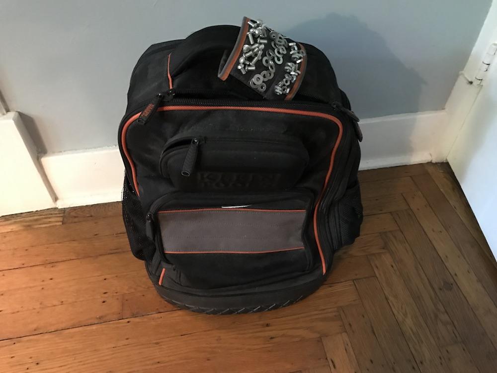 backpack handle