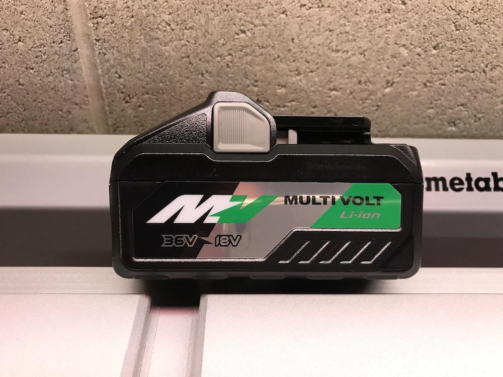 Metabo HPT MultiVolt table saw