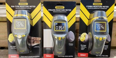 Moisture Meter Giveaway – General Tools MM7, MM8 & MM9