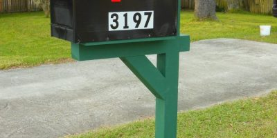 How To Make And Install a Curbside Mailbox Post