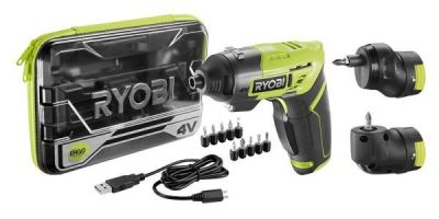 New Ryobi Multi-Head Screwdriver in 4V
