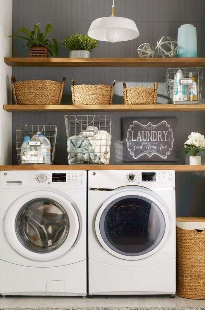 40 best minimalist laundry room design ideas you must try on best laundry room designs id=86220