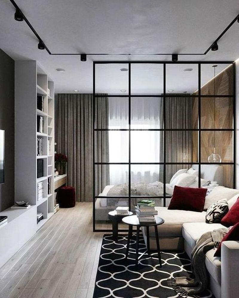 35 Stunning Room Divider Ideas For Small Studio Apartment Homeflish
