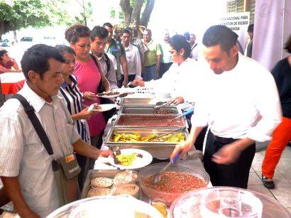 Evento de comidas tipicas de Nicaragua (1)