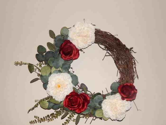 Gorgeous Easy DIY Wreath - Finished wreath