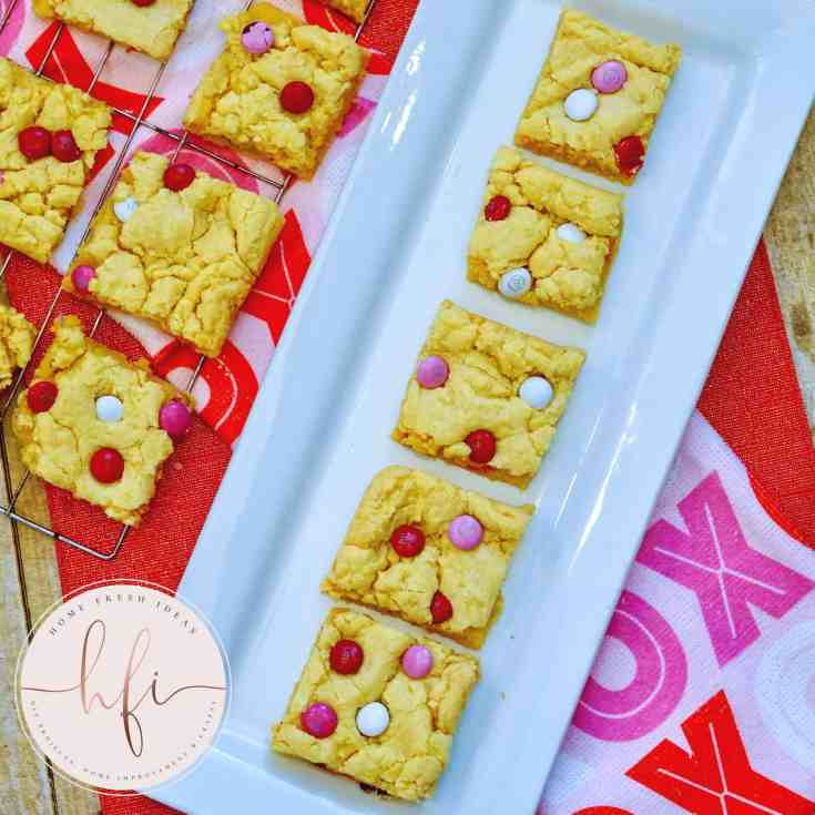 ready to serve cake mix cookie bars
