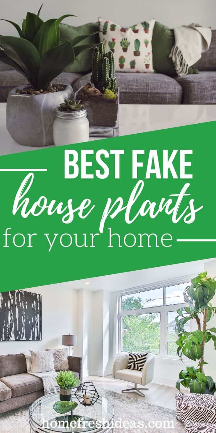 The Best Fake House Plants For People With Black Thumbs - Look no further, these are the Best Fake House Plants For People With Black Thumbs. You don't have to water them, put them in sunlight or anything! #plants #faux #fake #beautiful #artificialplants #easy #homefreshideasash