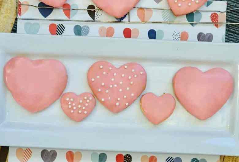 ready to eat valentine's day cookies