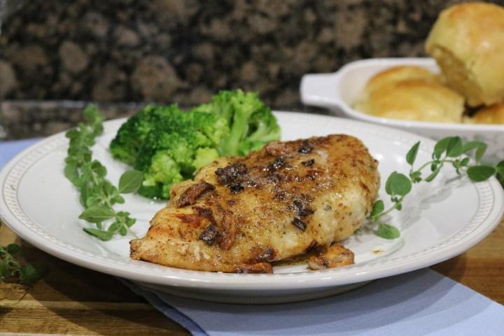 Crispy Garlic Butter Chicken