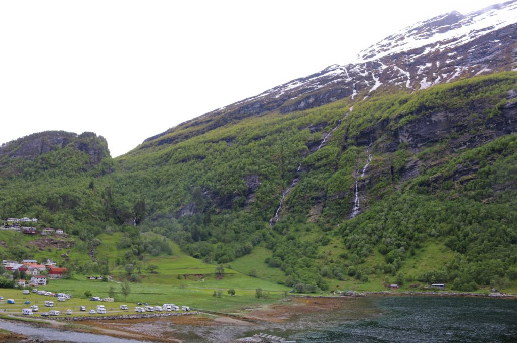 Sky to Fjord in Geiranger