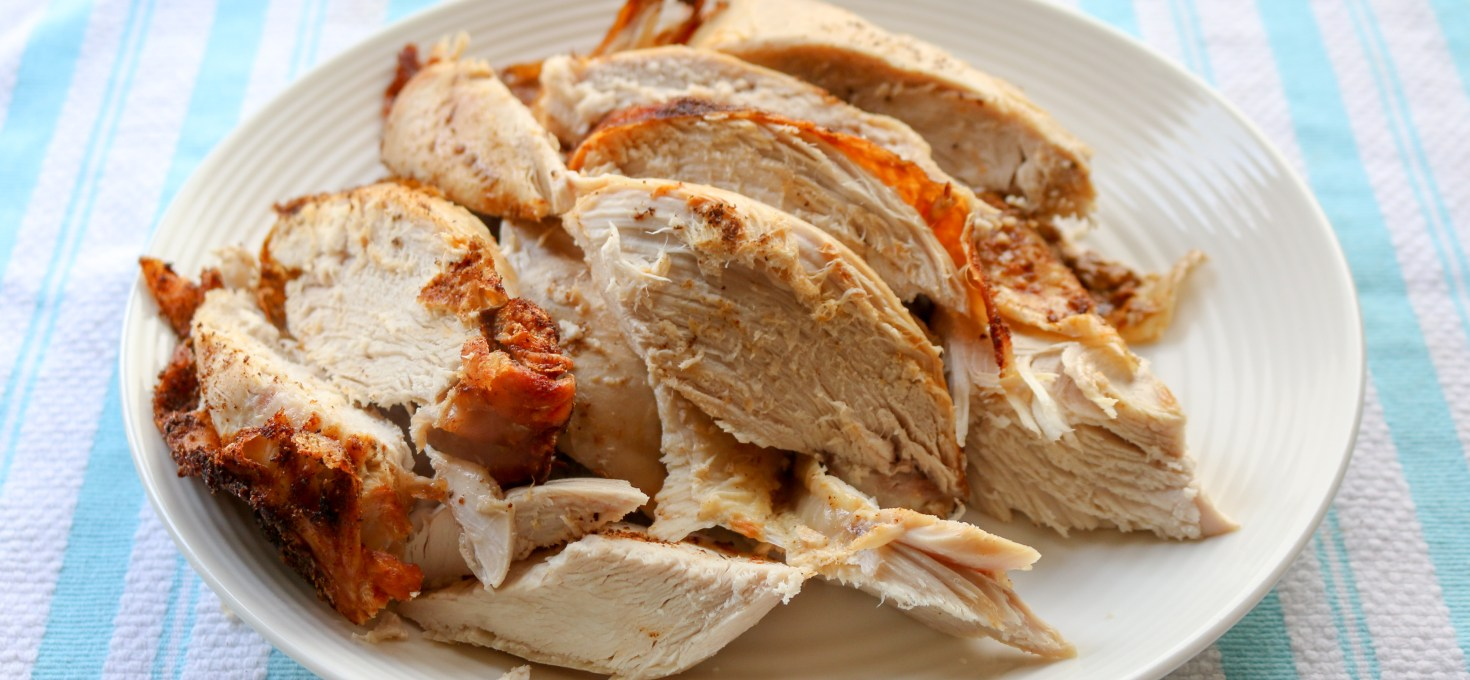 Old Bay + Butter Roasted Turkey Breast