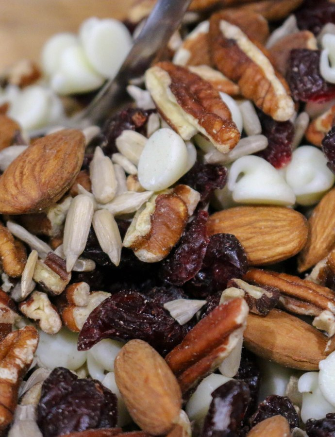 Cranberry White Chocolate Trail Mix