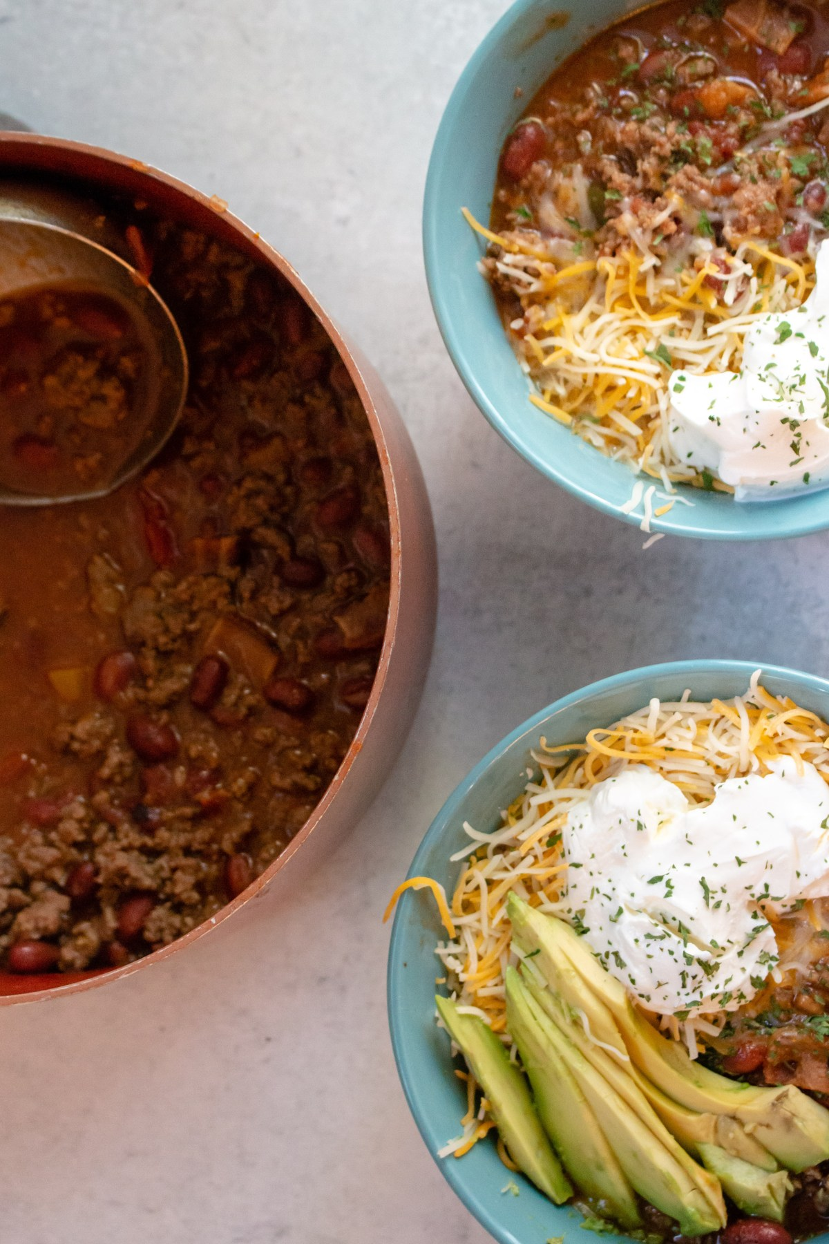 easy four ingredient beef chili