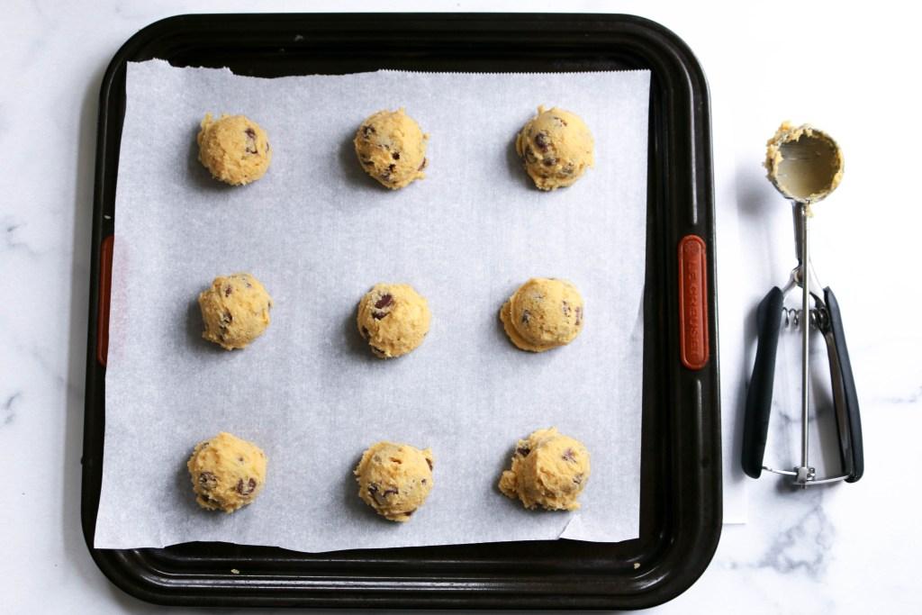 favorite chocolate chip cookies dough