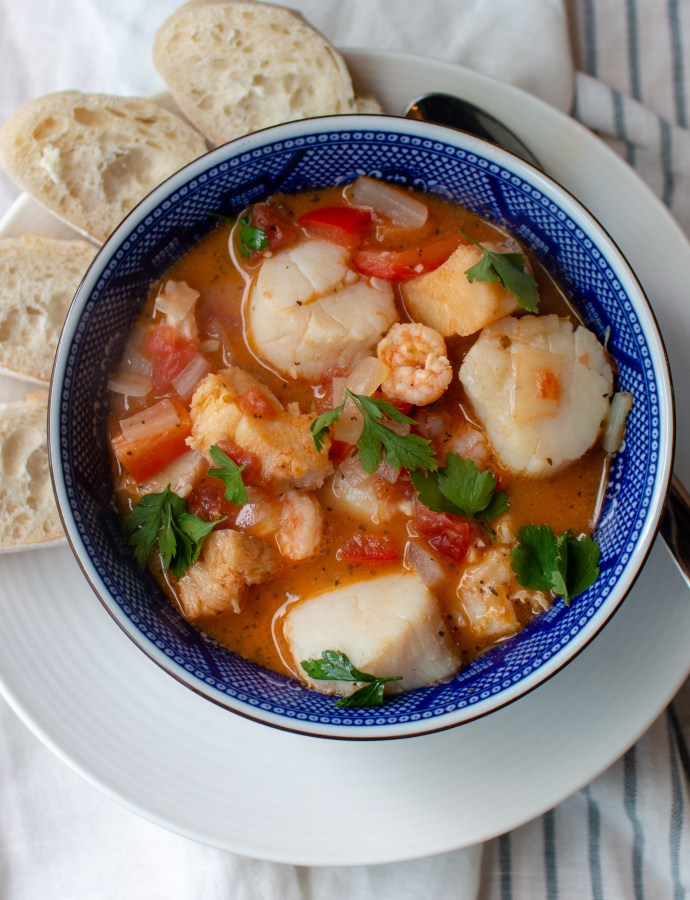 Cioppino {Fisherman's Stew}