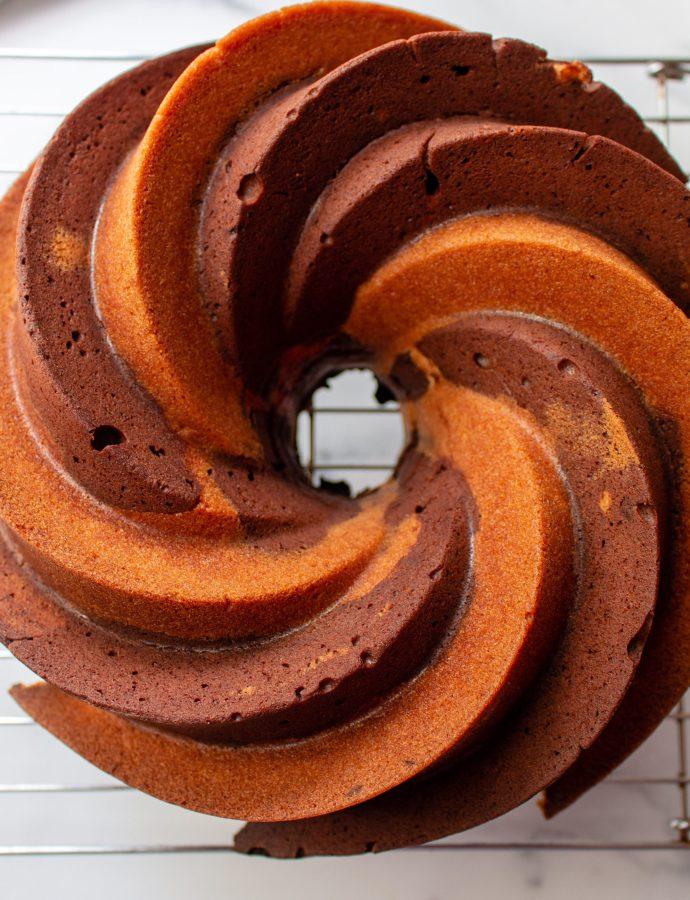 Chocolate Marbled Bundt Cake