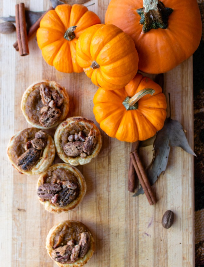 Harvest Pumpkin Pie Cups