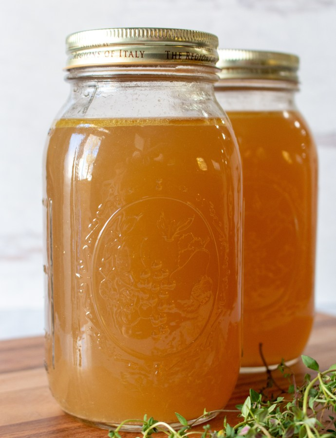 How to Make Your Own Chicken Broth