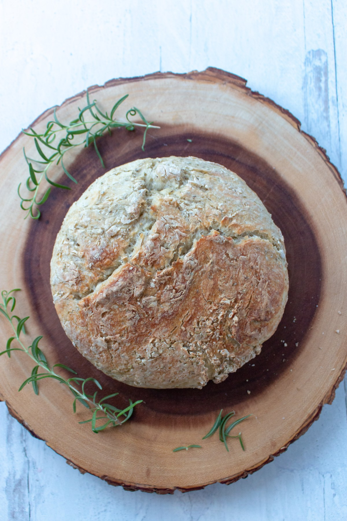 rosemary dutch oven bread