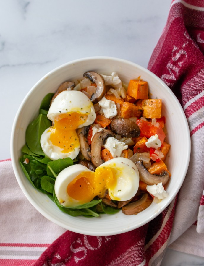 Savory Fall Breakfast Bowl