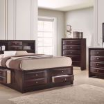 Emily Queen Size Bedroom Set Brown Home Furniture Plus Bedding