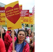 Kaiser Permeate Nurses recently walked out on strike on grounds of improper Ebola protocols. (FLICKR Photo)