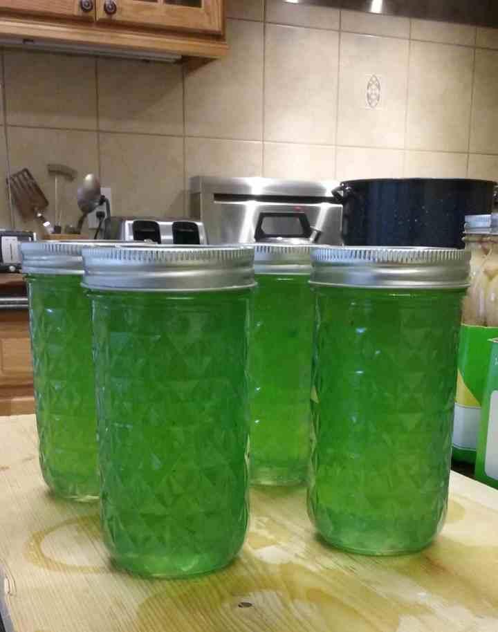 lemon parsley jelly