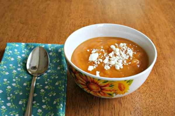 process to make butternut squash soup