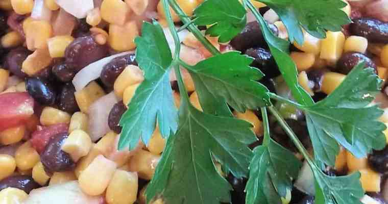 Plant-Based Recipe – South of the Border Salad