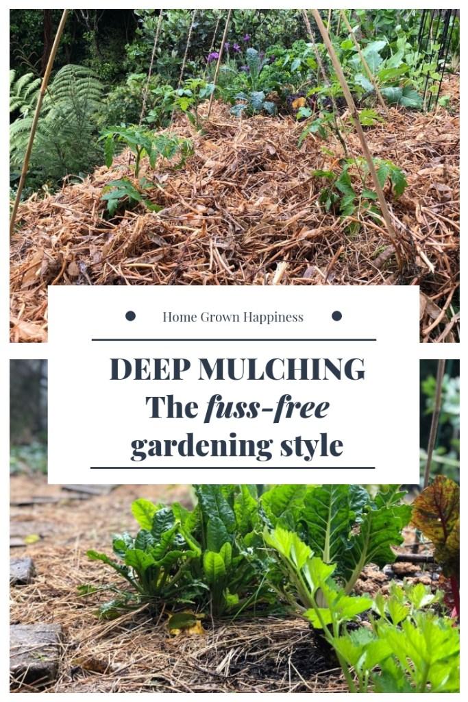 Deep mulching