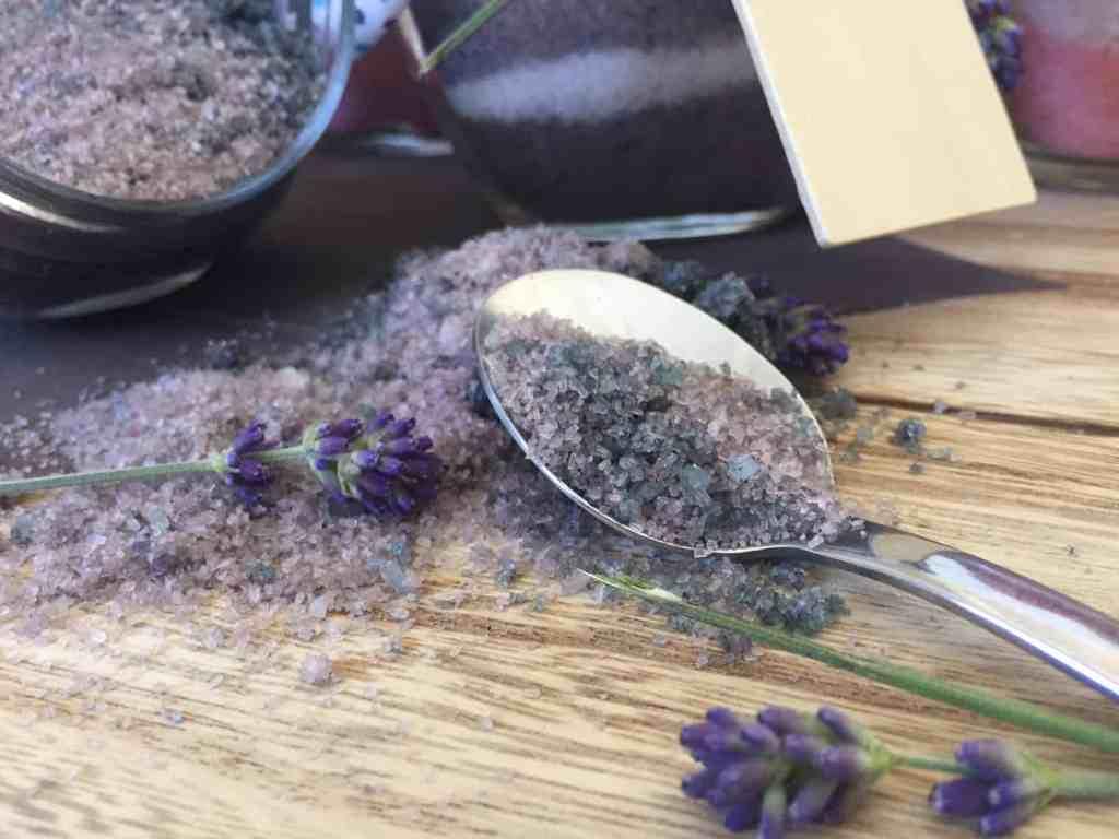 homemade scented bath salts