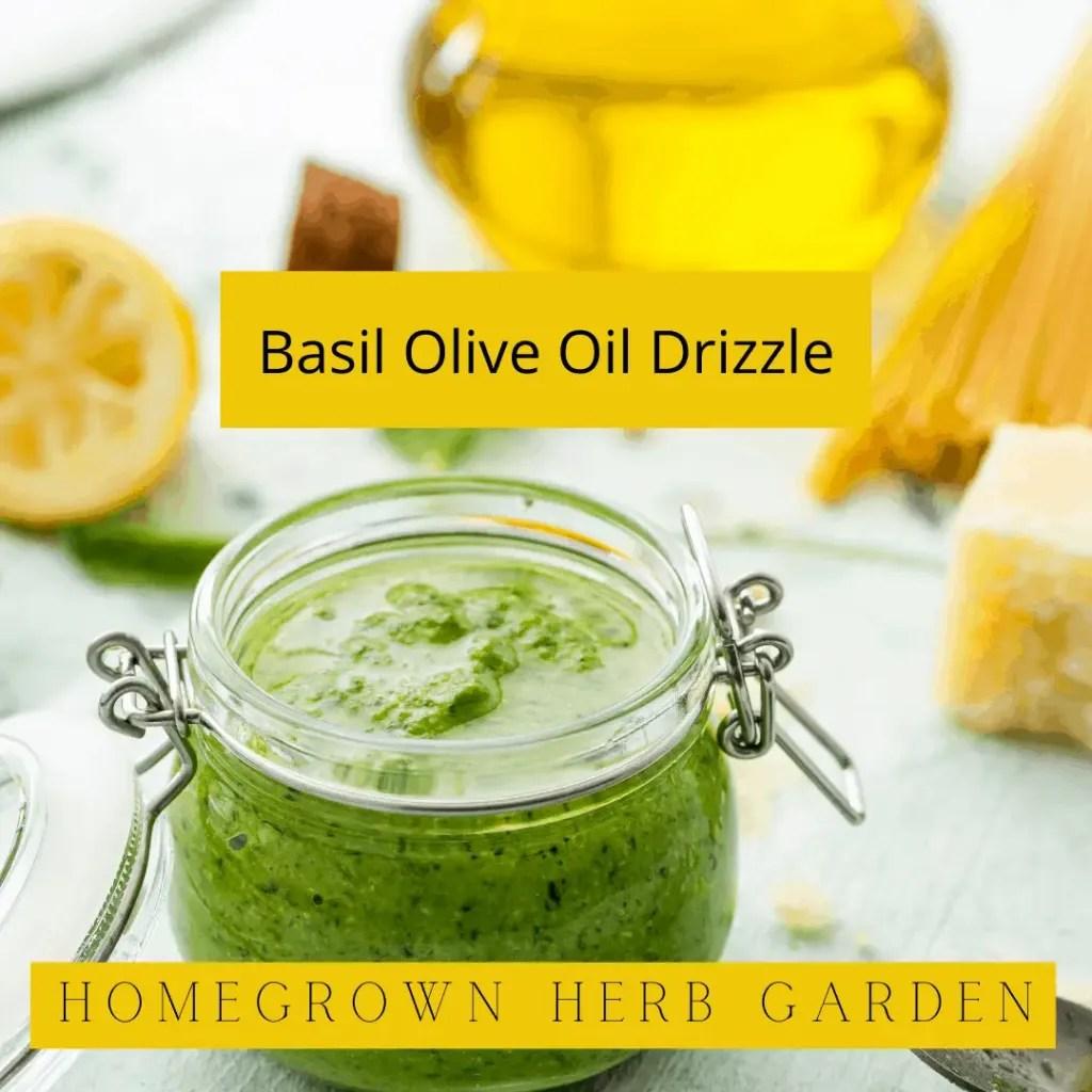 simple leftover basil recipes