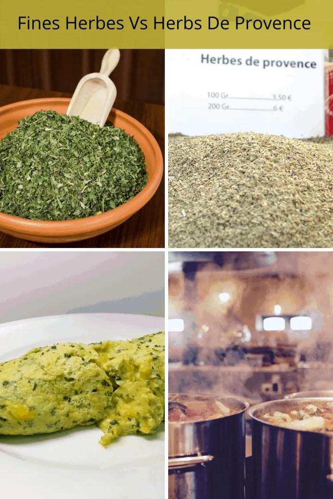 fines herbes vs herbs de provence and recipes