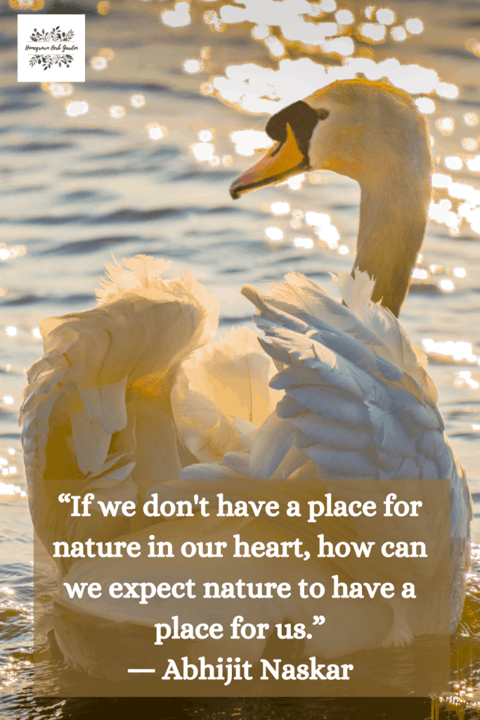 """If we don't have a place for nature in our heart, how can we expect nature to have a place for us."" ― Abhijit Naskar"