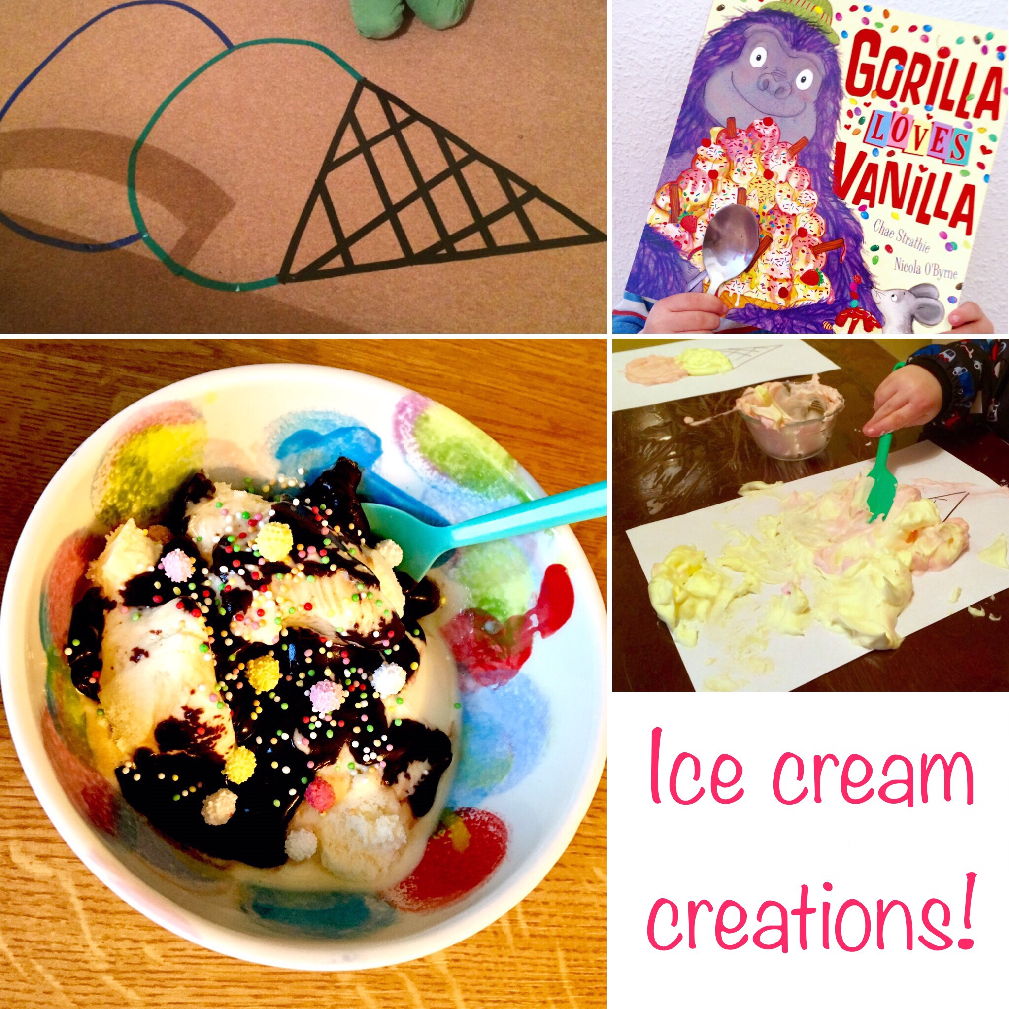 Gorilla loves vanilla ice cream creations homegrown reader forumfinder Image collections