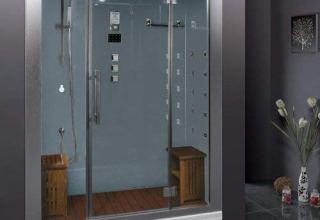 Ariel steam shower