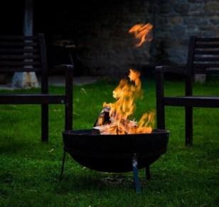 woodburning firepit
