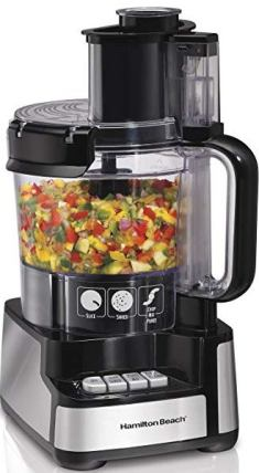 processing food with a food processor