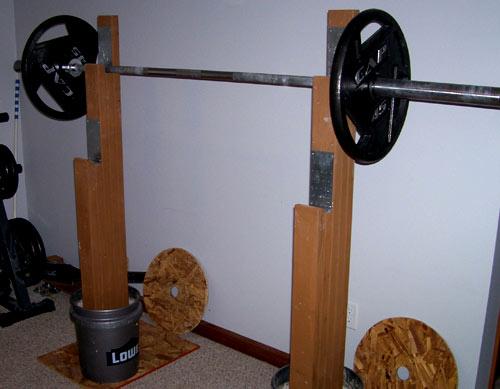 8 ways to build a diy wooden squat rack