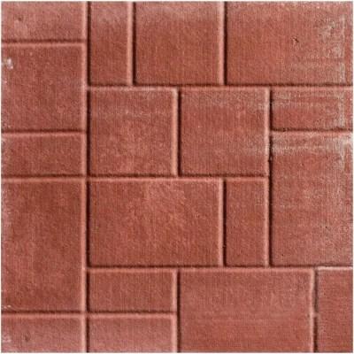 brooklin concrete 18 x 18 red brick patio stone